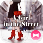A girl in the street Theme