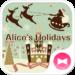Alice's Holidays Wallpaper