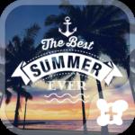 Beach Theme-Waikiki Sunset-