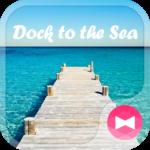 Beautiful Wallpaper Dock to the Sea Theme