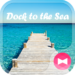 Beautiful Wallpaper Dock to the Sea Theme