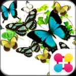 Butterflies in summer Theme