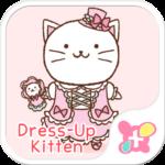 Cat wallpaper-Dress-Up Kitten