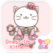Cat wallpaper-Dress-Up Kitten