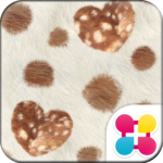 Chic Wallpaper FUR HEART