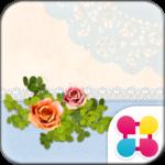 Chic Wallpaper Powder Rose