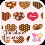Chocolate Hearts Wallpaper