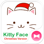 Christmas  Theme Kitty Face