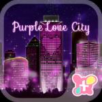 City Theme-Purple Love City-