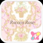 Classic Wallpaper Rococo Rose
