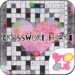Collage Theme Crossword Heart