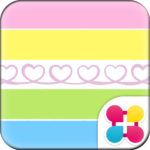 Colorful Theme-Twirly Heart-
