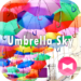 Colorful Theme Umbrella Sky