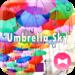 Colorful Theme Umbrella Sky