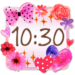 Cute Clock Widget 2 【FREE】