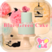 Cute Theme-Blue-Green Cake-
