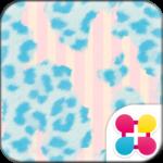 Cute Theme-Blue Leopard-