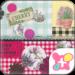 Cute Theme-Botanical&Gingham-