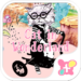 Cute Theme-Cat in Wonderland-