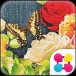 Cute Theme-Denim Floral-