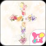 Cute Theme-Floral Cross-