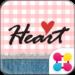 Cute Theme-Gingham Heart-