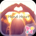 Cute Theme-Hand Heart-