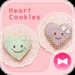 Cute Theme-Heart Cookies-