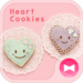 Cute Theme-Heart Cookies-