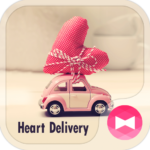 Cute Theme-Heart Delivery-