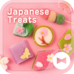 Cute Theme-Japanese Treats-