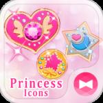 Cute Theme Princess Icons