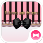 Cute Theme Ribbons and Stripes