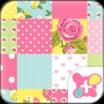 Cute Theme-Rose Quilt-