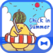Cute Wallpaper Chick in Summer Theme