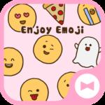 Cute Wallpaper Enjoy Emoji Theme