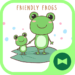 Cute Wallpaper  Friendly Frogs