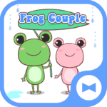 Cute Wallpaper Frog Couple