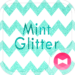 Cute Wallpaper Mint Glitter