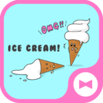 Cute Wallpaper OMG! Ice Cream! Theme