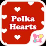 Cute Wallpaper Polka Hearts