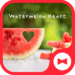 Cute Wallpaper Watermelon Heart Theme
