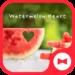 Cute Wallpaper Watermelon Heart Theme