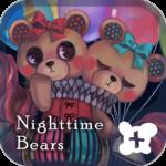 Cute wallpaper-Nighttime Bears