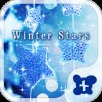 Cute wallpaper-Winter Stars-