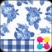 CuteTheme-BlueGingham and Rose