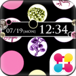 Dots & Flowers Wallpaper Theme