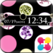 Dots & Flowers Wallpaper Theme