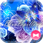 ★FREE THEMES★Blue Papillon
