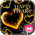 Fancy Wallpaper HAPPY HEART Theme